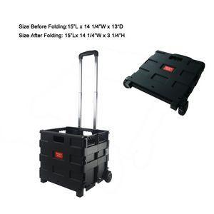 Black Blank Portable Pack-N-Roll Tool Carrier