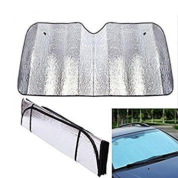 Car Windshield Sunshade Foldable Reflective Sun Visor 50 x 24