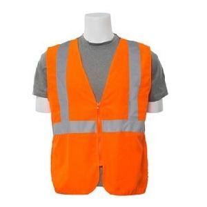 Class 2 Woven Oxford Economy Hi Viz Orange Vest