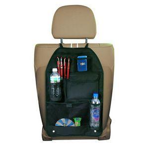 Deluxe Black Car Back Seat Multi Pocket Compartment Organizer Storage